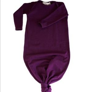 0-3 Month knotted gown